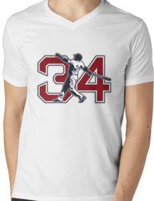 34 - Big Papi (original) Mens V-Neck T-Shirt