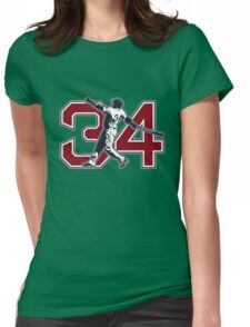 34 - Big Papi (original) Womens Fitted T-Shirt