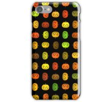Jack-O-Lantern Pattern iPhone Case/Skin