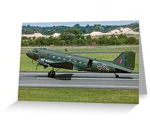 BBMF Douglas Dakota C.3 ZA947/YS-H Greeting Card