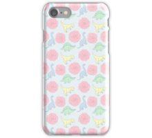 Pastel Dinos iPhone Case/Skin