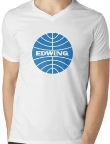 edwing airlines Mens V-Neck T-Shirt