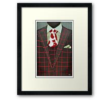 Sharply Dressed: Hannibal Framed Print