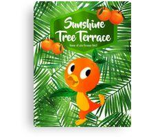 Sunshine Tree Terrace - Home of the Orange Bird Canvas Print