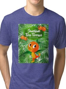 Sunshine Tree Terrace - Home of the Orange Bird Tri-blend T-Shirt