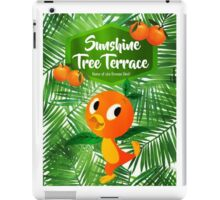 Sunshine Tree Terrace - Home of the Orange Bird iPad Case/Skin