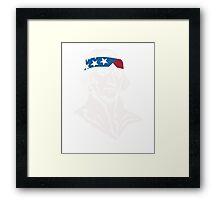 President Thomas Jefferson American Patriot Vintage Framed Print
