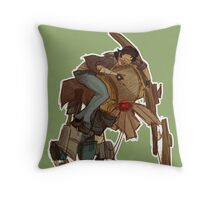 Alyx and D0g Throw Pillow