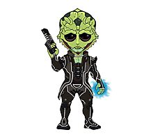 Mass Effect 3: Thane Krios Chibi Photographic Print