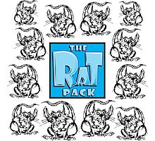 The Rat Pack Group Photographic Print