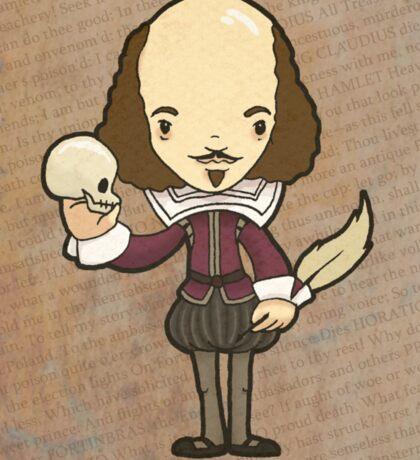 Shakespeare Sticker