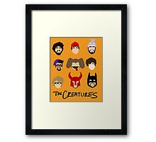 The Creatures 2013 Framed Print