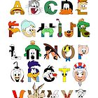 That's Alphabet Folks by Mike Boon