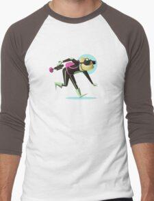 Spec Ops Officer Chamel Men's Baseball ¾ T-Shirt