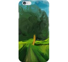 Tree Wind Sunlight iPhone Case/Skin