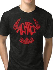Heart of a Chief Tri-blend T-Shirt