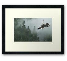 Battle for the Cedars Framed Print