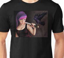 The Raven Girl Unisex T-Shirt