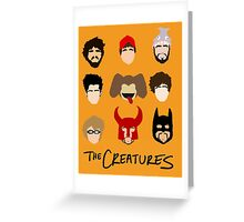The Creatures 2014 Greeting Card