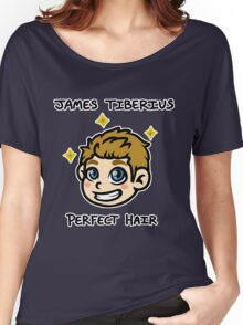 Captain James Tiberius Perfect Hair Women's Relaxed Fit T-Shirt