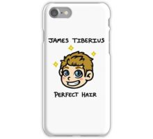 Captain James Tiberius Perfect Hair iPhone Case/Skin