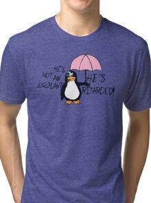 He's not an Eggplant Tri-blend T-Shirt