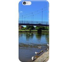 Bridge Over Exeter Canal............Devon uk iPhone Case/Skin