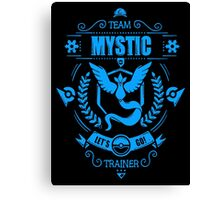 Team Mystic Trainer Pokemon Anime Japan Classic Canvas Print