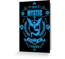 Team Mystic Trainer Pokemon Anime Japan Classic Greeting Card