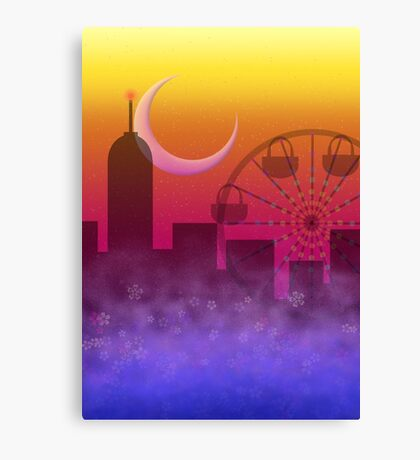 End of the Festival Canvas Print
