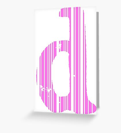 Cool D Greeting Card