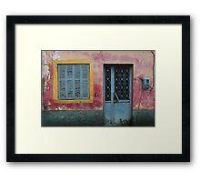 Pentati  - JUSTART © Framed Print