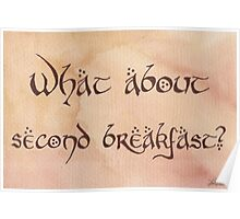 What About Second Breakfast? Poster