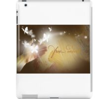 Free Indeed Glowing Butterflies iPad Case/Skin