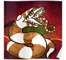 Sandworm from Beetlejuice Poster