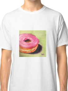 Sweet Donut with Strawberry Cream. 0 calories :) Classic T-Shirt