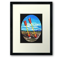 Twin Arrows, Arizona Route 66 Framed Print