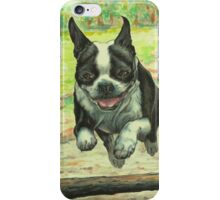Leaping Boston iPhone Case/Skin