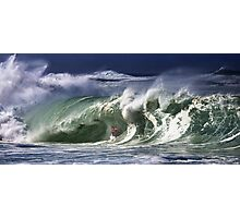 Andy Irons At 2009 Quiksilver in Memory of Eddie Aikau Contest Photographic Print