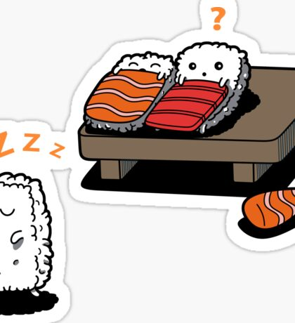 Sleepwalking Sushi Sticker