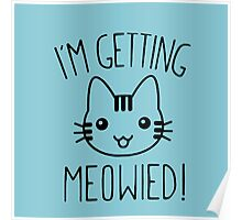 I'm Getting Meowied Poster