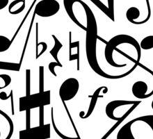 Music heart Sticker