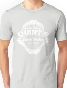 Quints Shark Fishing Amity Island - Jaws Funny 70s Movie Unisex T-Shirt