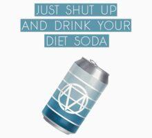 Diet Soda Society One Piece - Short Sleeve