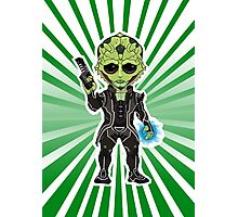 Thane Krios Chibi Photographic Print