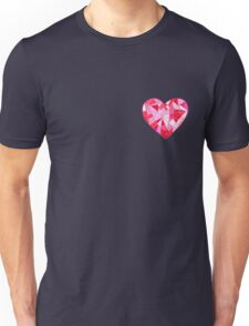 Stained Glass Heart and Colorful Parts T-Shirt
