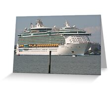 Independence of the Seas Greeting Card