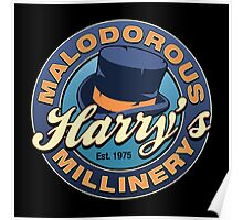 Harry's Malodorous Millinery Poster