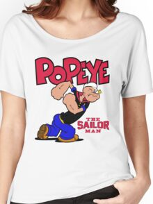 Popeye The Sailor Man Women's Relaxed Fit T-Shirt