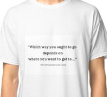 WhichWay-Carroll Classic T-Shirt